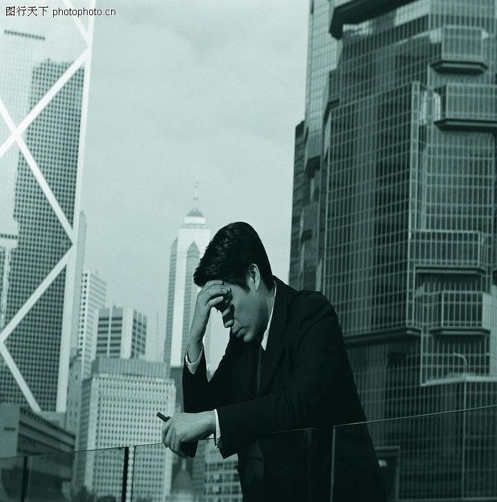 亚洲商务,商业金融,写字楼 经理 休息,亚洲商务0022