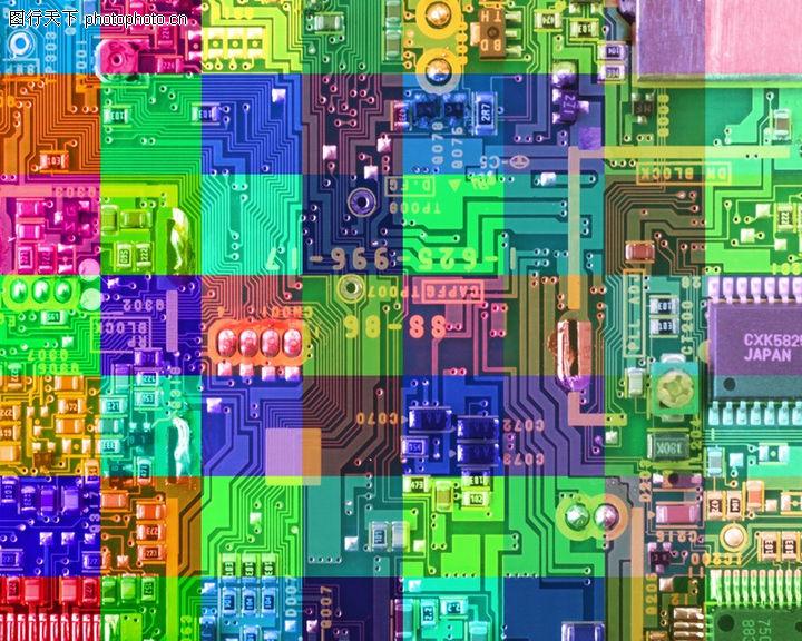 科技,电路板