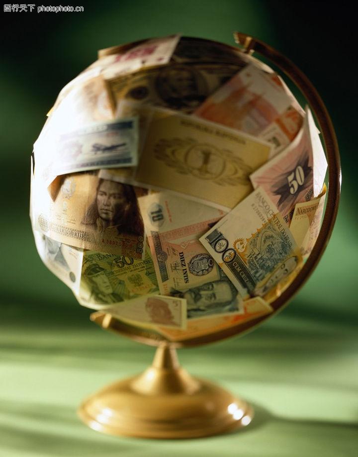 地球仪 货币
