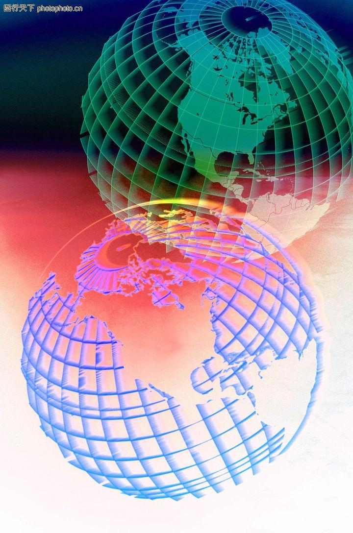 地球 经纬网