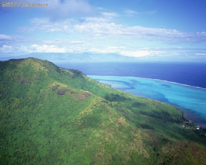 沙滩大海,自然风景,沙滩大海0089