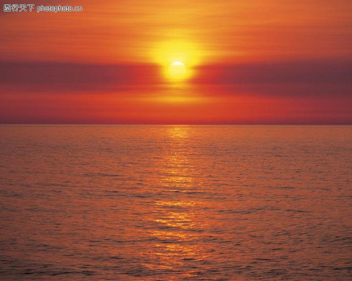 夕阳风景 自然风景 斜阳 阳光 天边 日出摄影图 自然风景 高清图片
