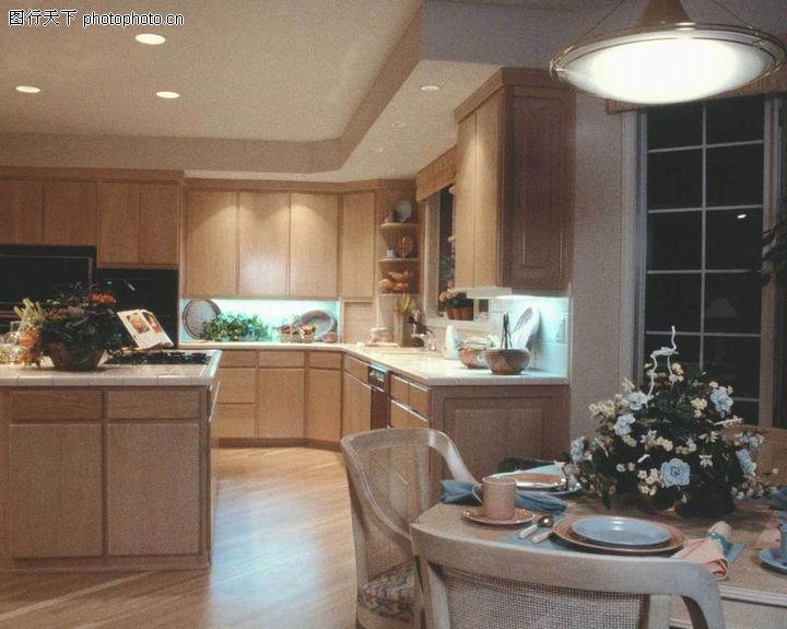 智能家居 厨房隔断装修效果图高清图片