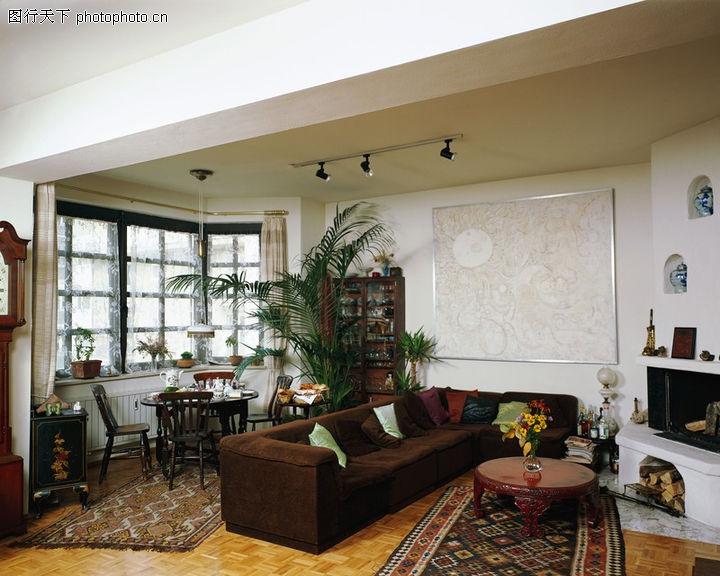 室内装饰,装饰,室内 大盆景 壁孔 瓷器 液晶电视,室内装饰0007