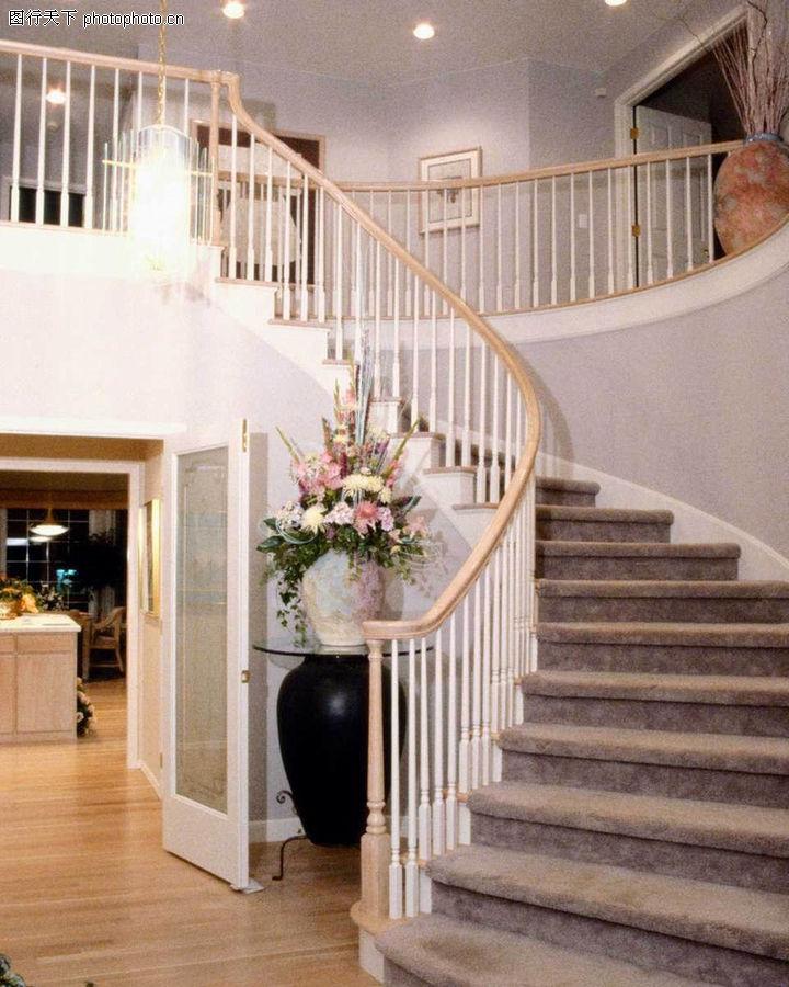 室内装修设计效果图 室内装饰 房间 楼梯间