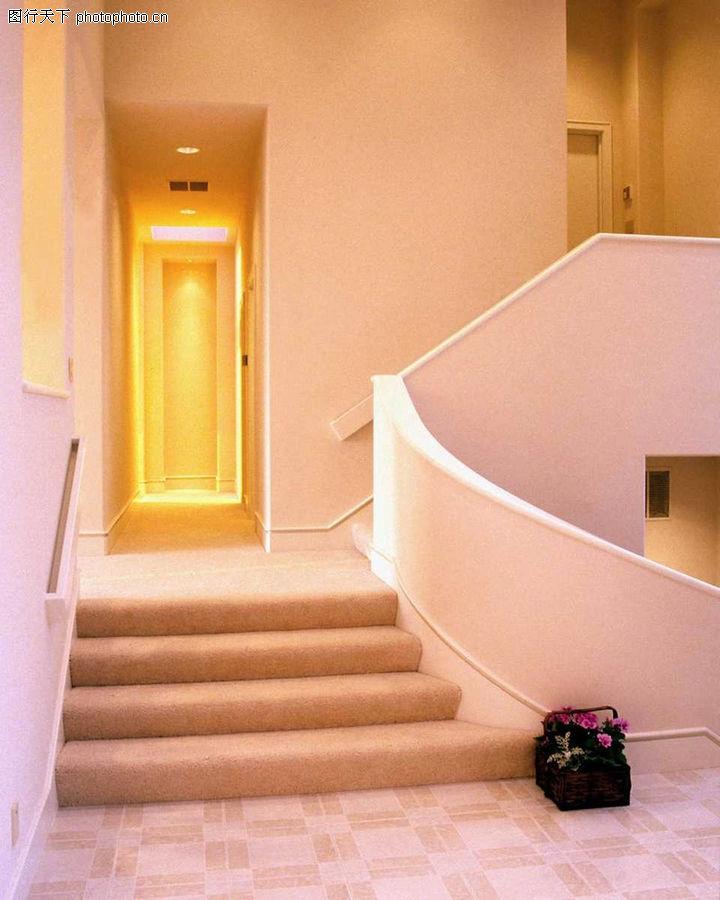 室内装饰,装饰,过道 大理石台阶
