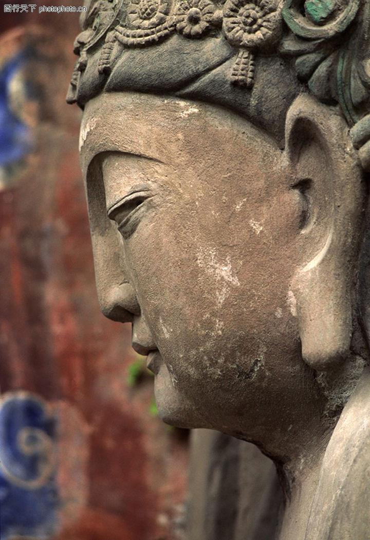 佛像艺术,中华图片,侧面
