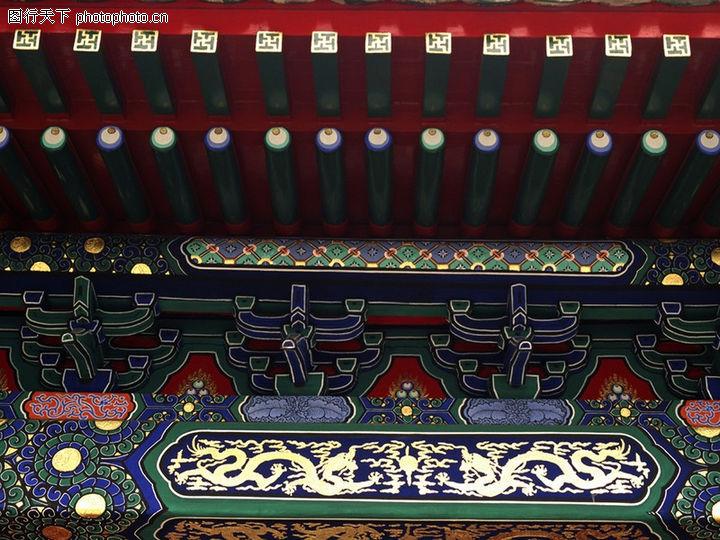 古代建筑,中华图片,房梁