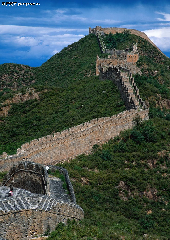 中国长城图片_中国长城0070-中国长城图-中华图片图库-保卫 国家 正气