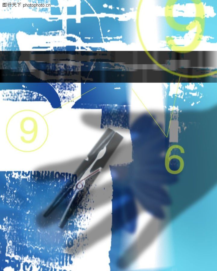 抽象设计0181-抽象设计图-抽象图库-数字 圆规 绘图