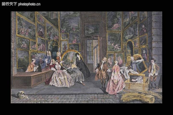 欧洲名画,艺术,人物油画,欧洲名画0042