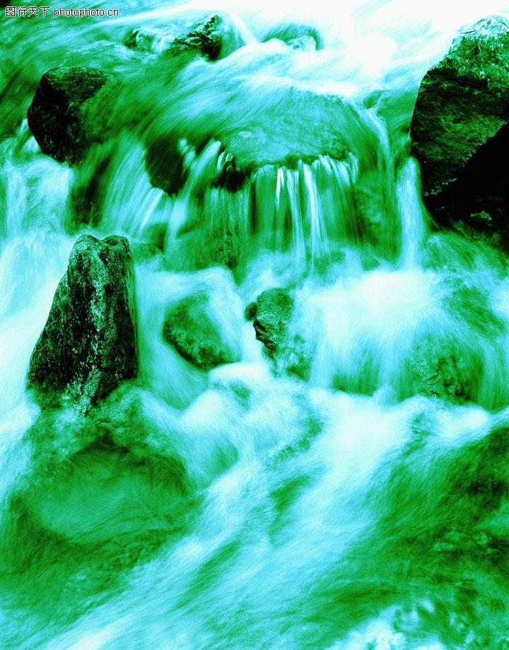 溪流水源,自然风景,溪流水源0263