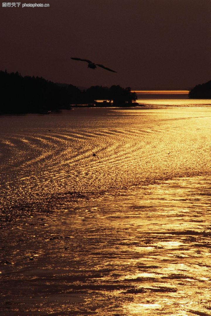 黄昏夜景,自然风景,海景 黄昏 夜晚,黄昏夜景0291
