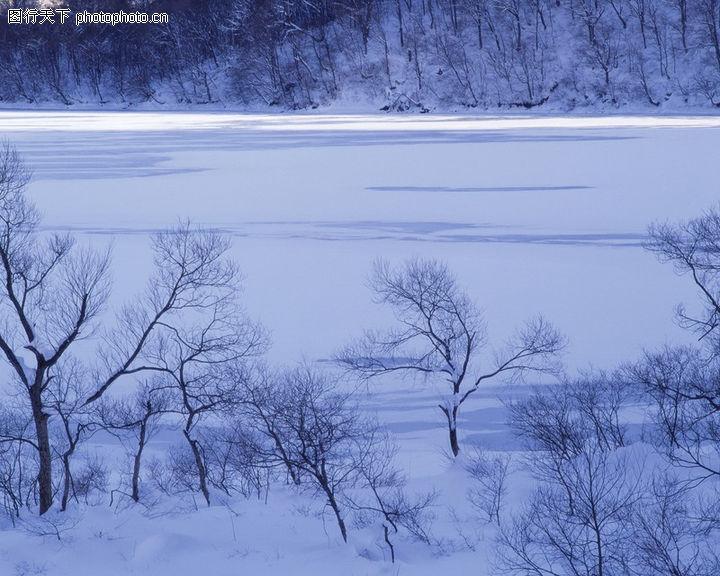 design 冬天卡通风景矢量背景图冬天卡通风景矢量背景图 冬天雪景071