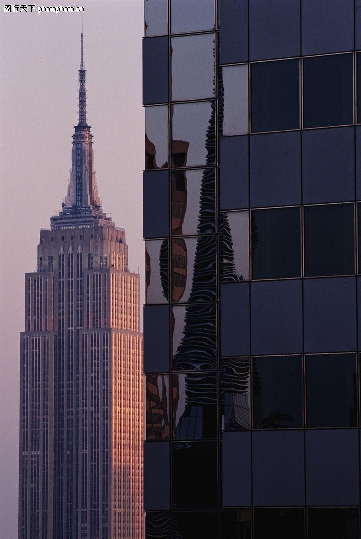 美国风景,世界风光,镜子
