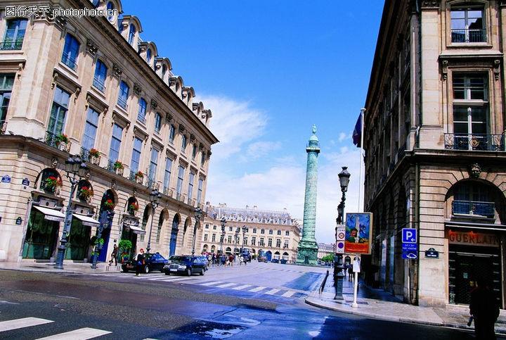 法国巴黎,世界风光,巴黎建筑