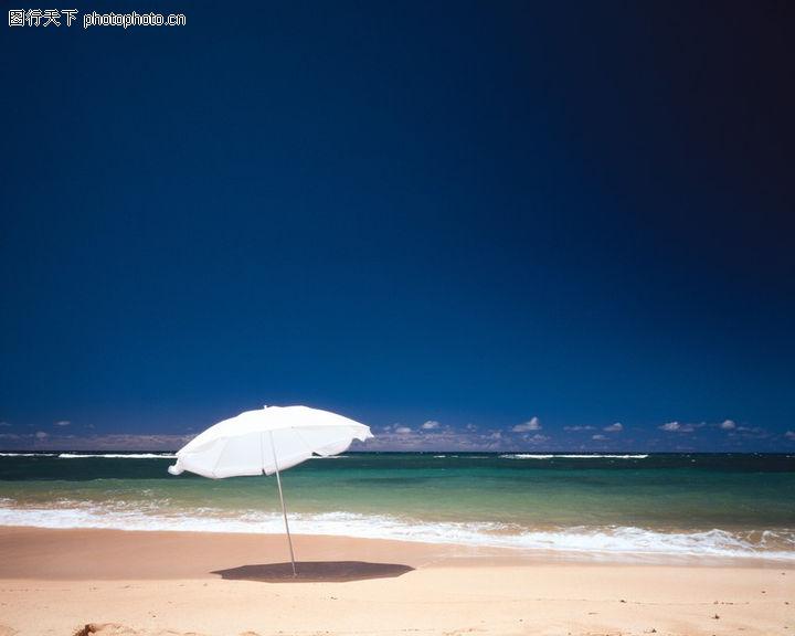 旅游风光,世界风光,大海 太阳伞 海滩,旅游风光0204