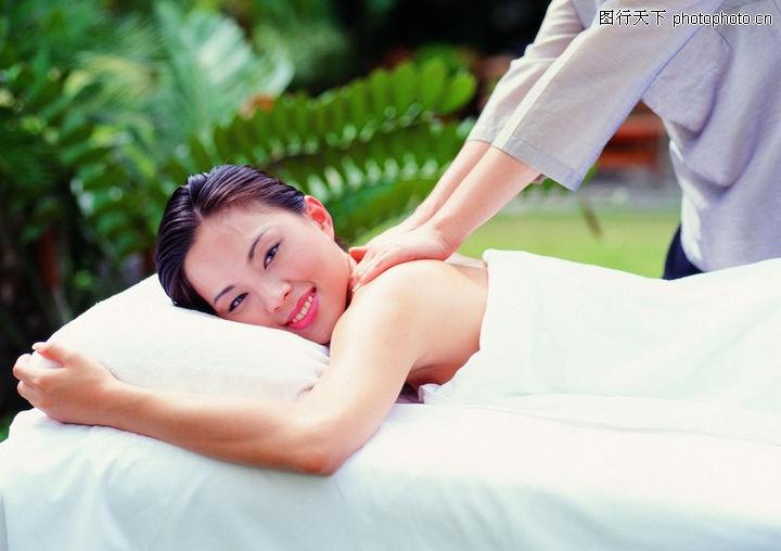 女性水疗 休闲保健