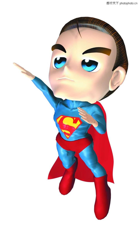 卡通人物 漫画卡通 漫画超人