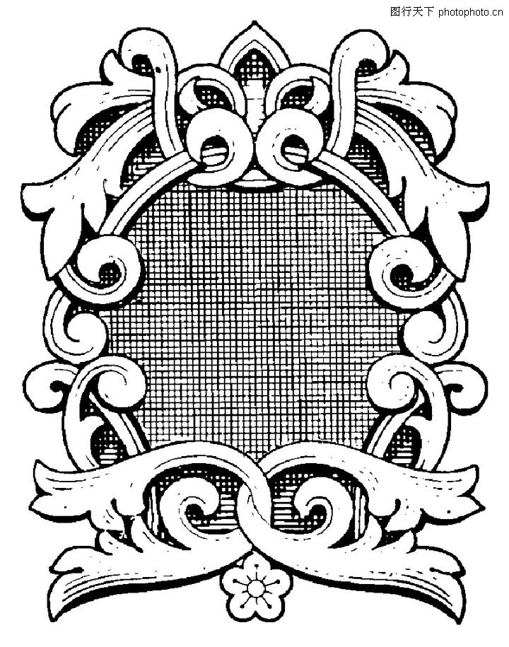古代图案花纹,中国图片,创意 设计 边幅,古代图案花纹0070