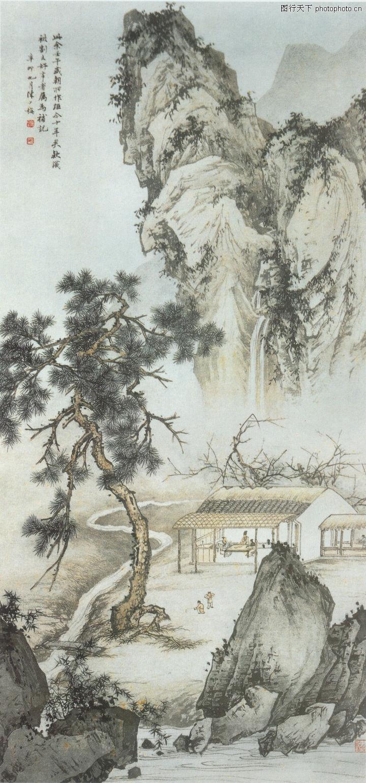 中国现代山水,山水名画图片