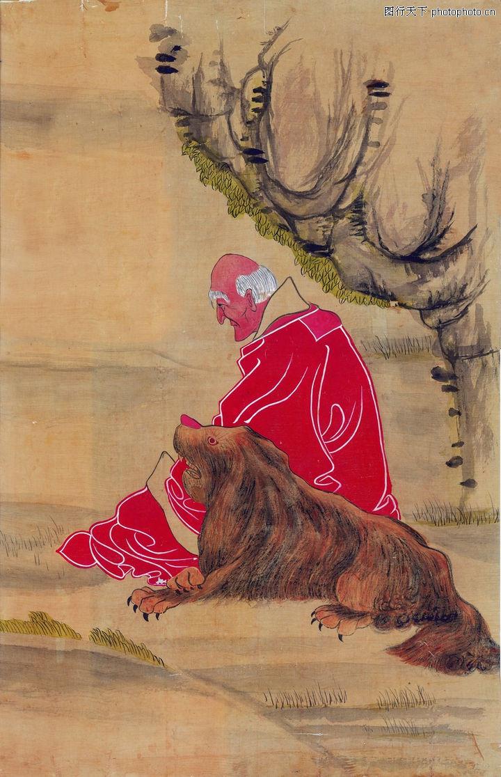 古代人物,山水名画,宠物