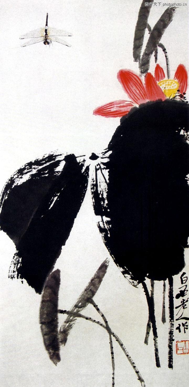 齐白石作品集,中国传世名画,齐白石作品集0130
