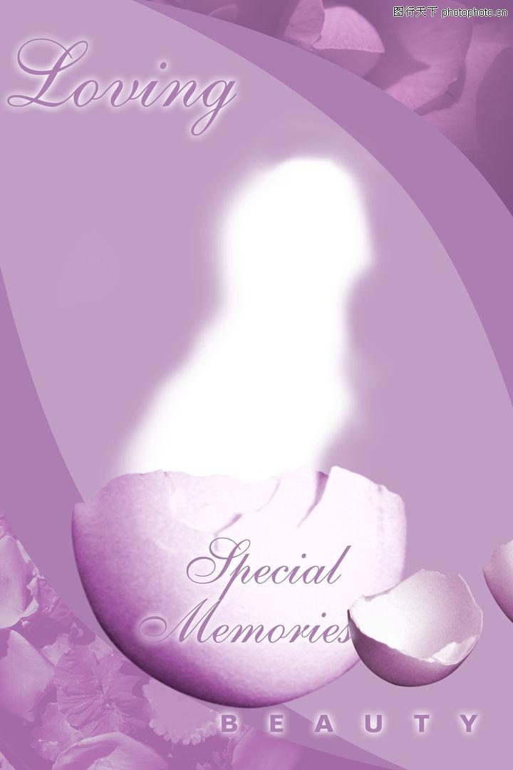 浪漫背景,婚纱摄影,紫色