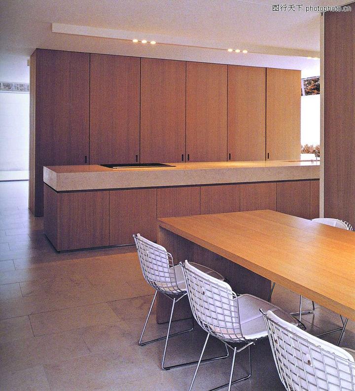 廚房設計,餐飲,藤椅 飯廳 木桌,廚房設計0010