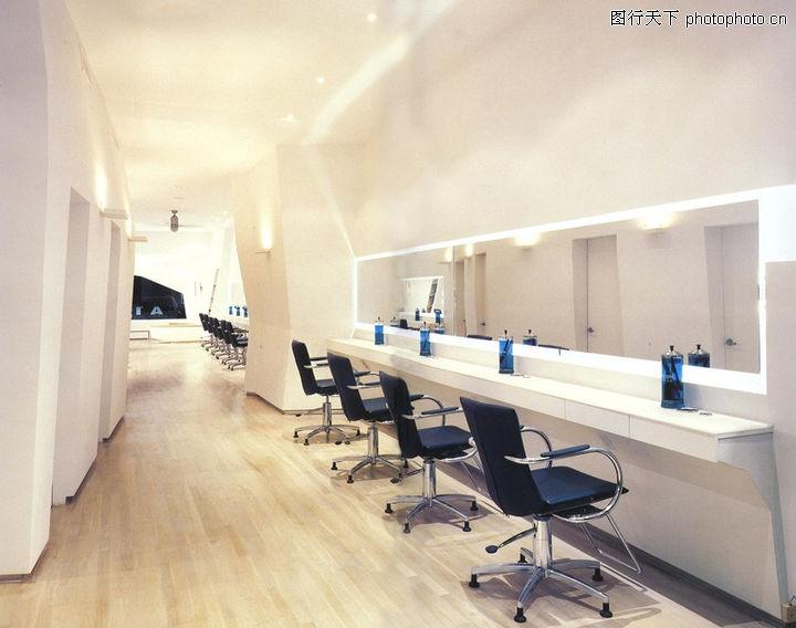 大厅装修造型美发店