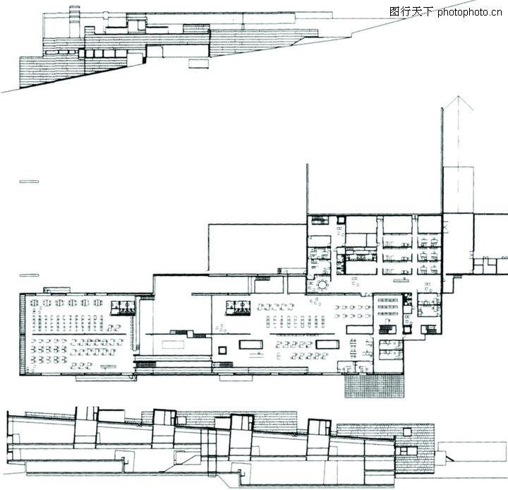 世界建筑设计,平面图