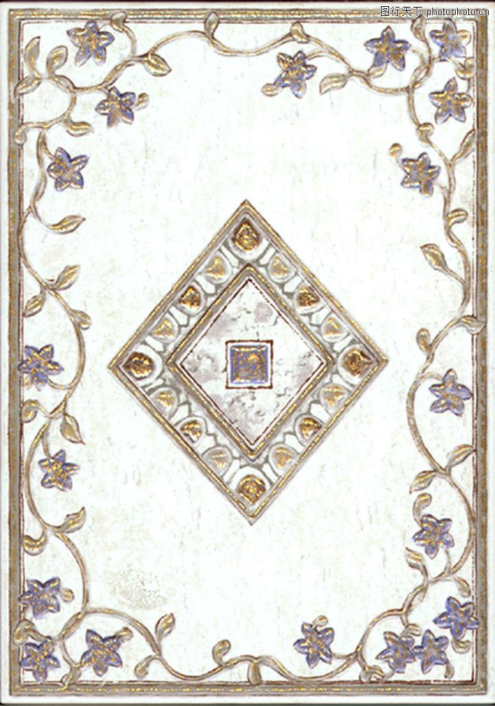 材质贴图 - 石材 - 意大利风格瓷砖;