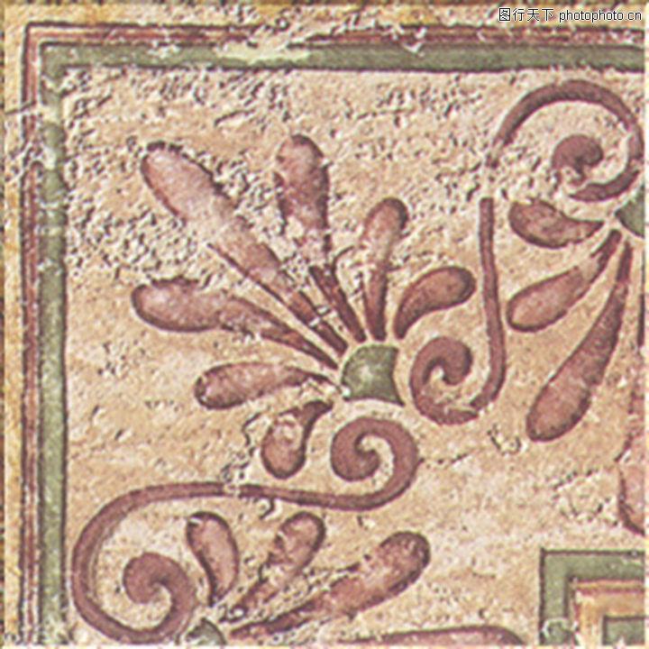 素材世界 - 材质贴图 - 石材 - 意大利风格瓷砖; 意大利风格瓷砖贴图