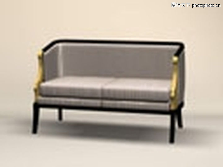 复古风格沙发0012