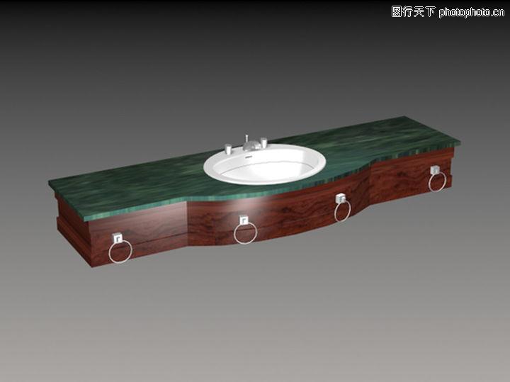 手盆,厨卫模型,手盆0018