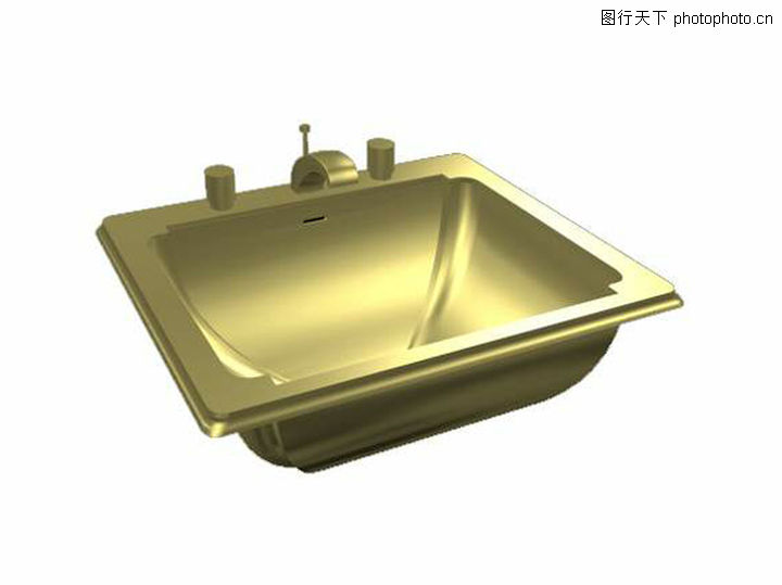 手盆,厨卫模型,手盆0019