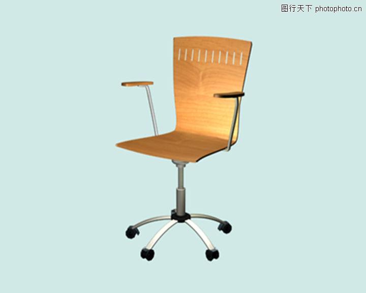 椅子手绘透视图