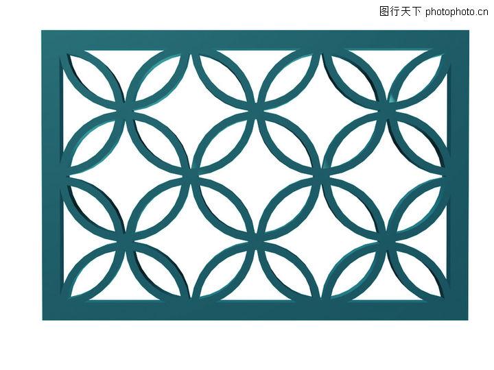 中国古典窗格元素素材