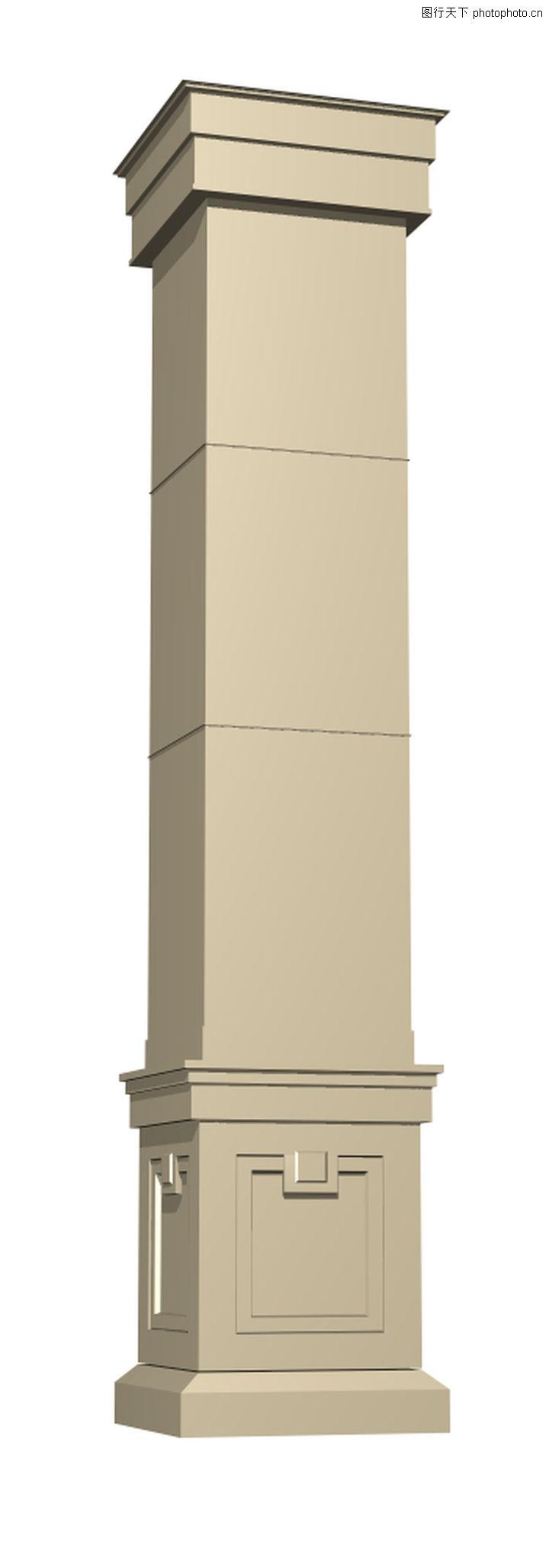 方形柱子装饰效果图,客厅方柱子装饰效果图,网吧柱子装饰效果图,