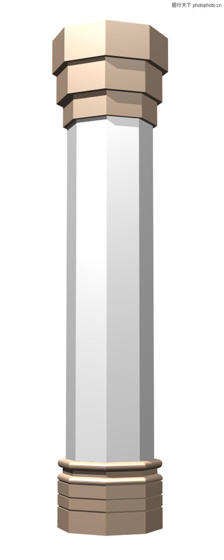 油漆大厅中的2根长方体柱子柱子底面是边长为3分米的正方形柱子高4米