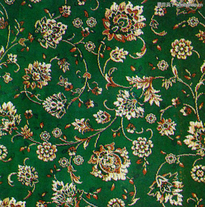 欧式地毯贴图绿色