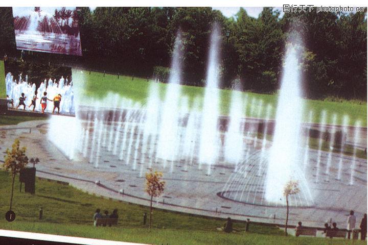 喷水池,假山与喷水池,喷水池0037