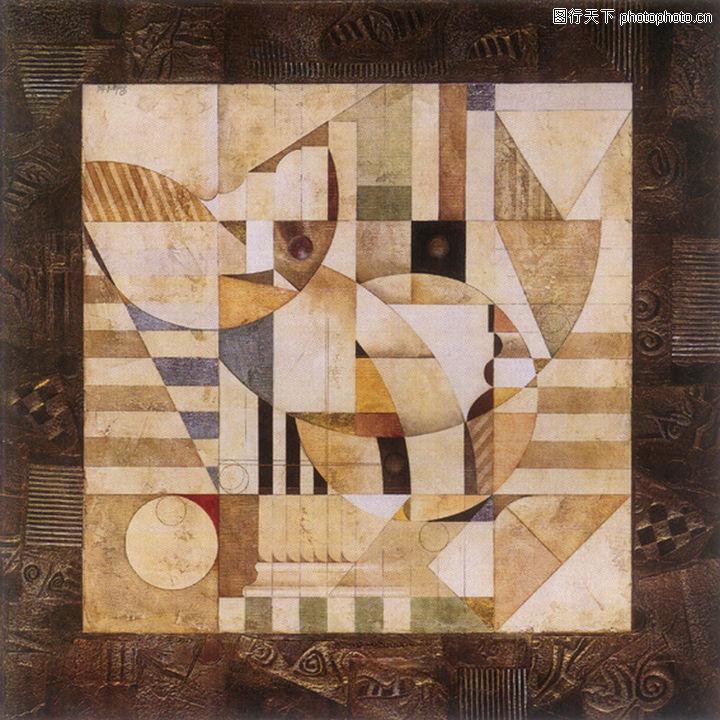 抽象画,墙饰画,抽象画0017