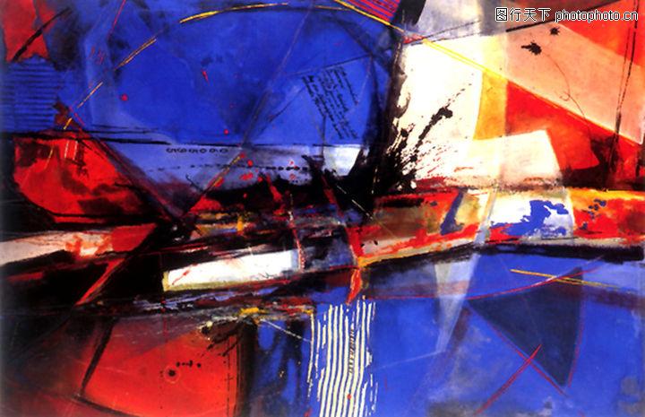抽象画,墙饰画,抽象画0028