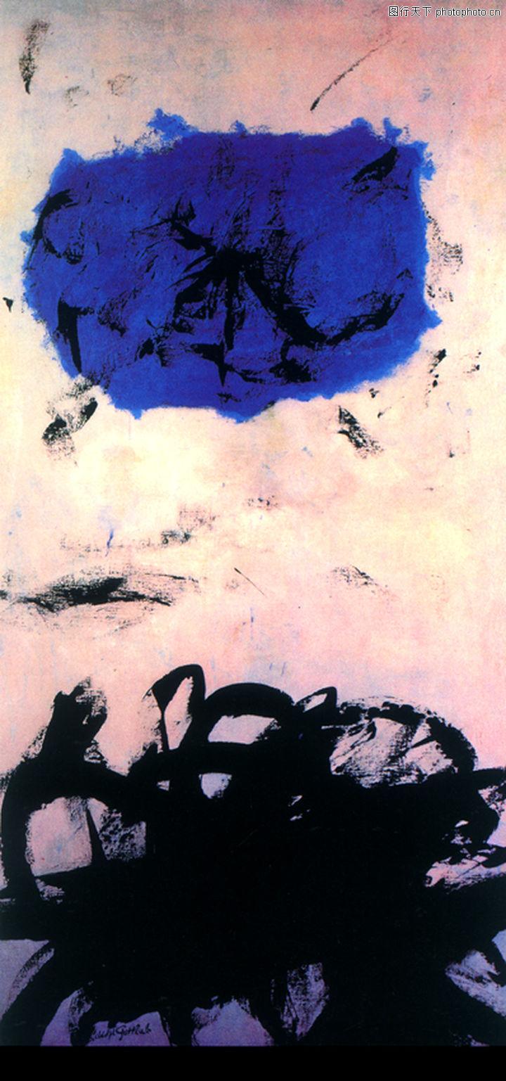 抽象画,墙饰画,抽象画0077
