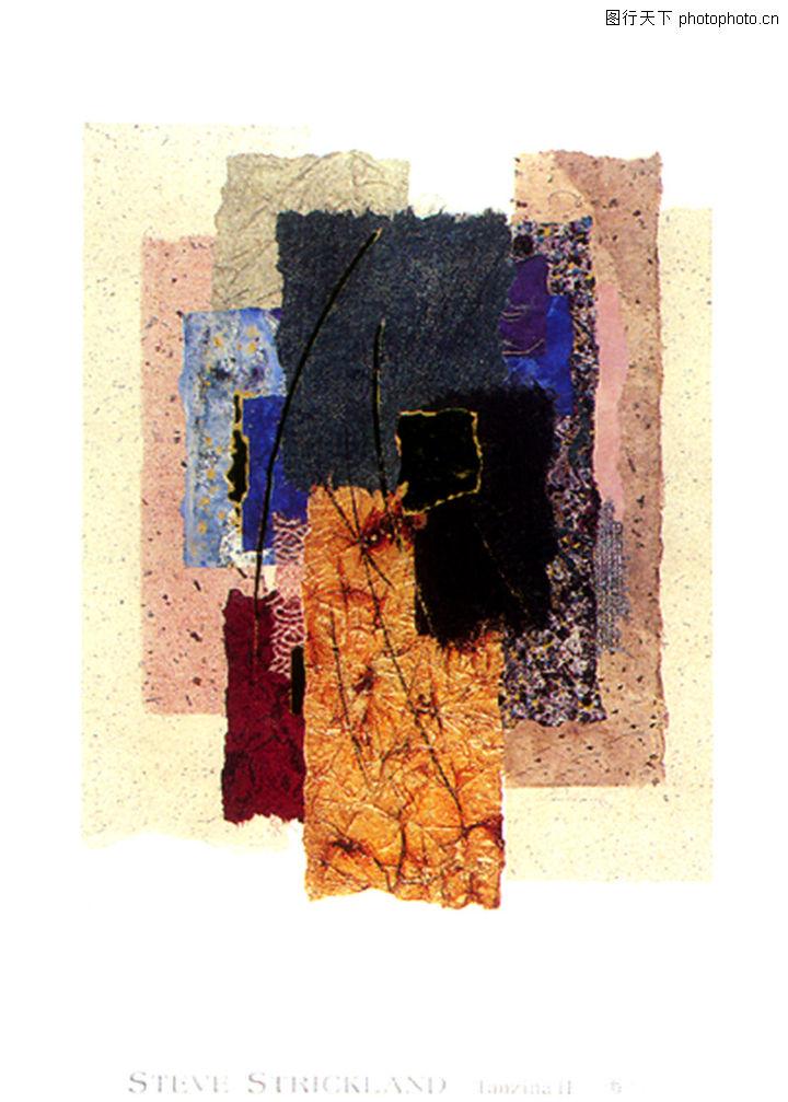 抽象画,墙饰画,抽象画0093