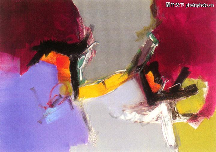 抽象画,墙饰画,抽象画0098
