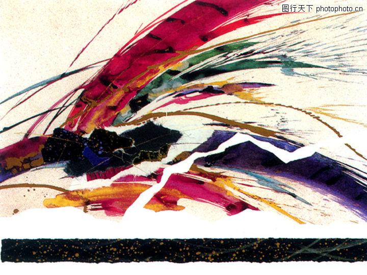 抽象画,墙饰画,抽象画0099