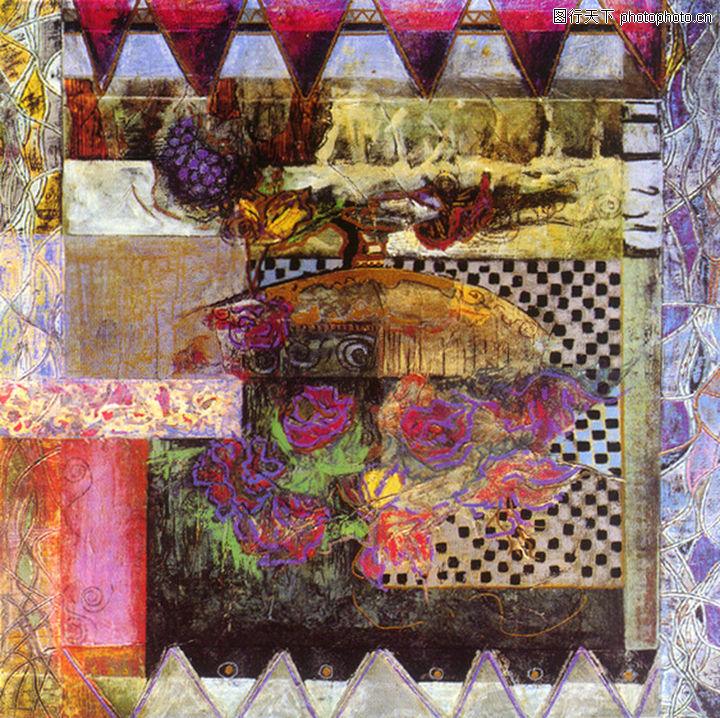 抽象画,墙饰画,抽象画0113
