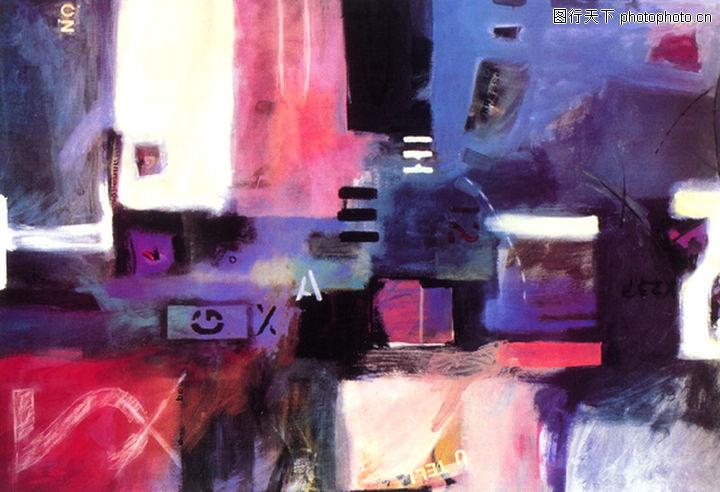 抽象画,墙饰画,抽象画0127